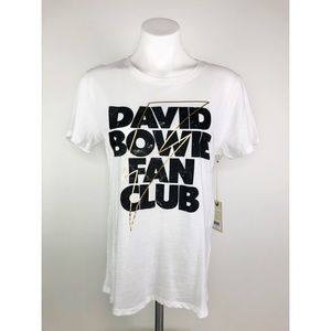 💜 David Bowie Fan Club Lucky Brand Tee
